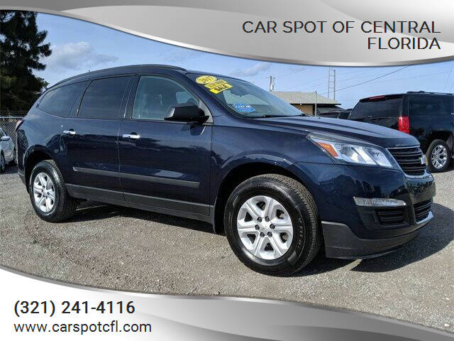 2017 Chevrolet Traverse for sale at Car Spot Of Central Florida in Melbourne FL