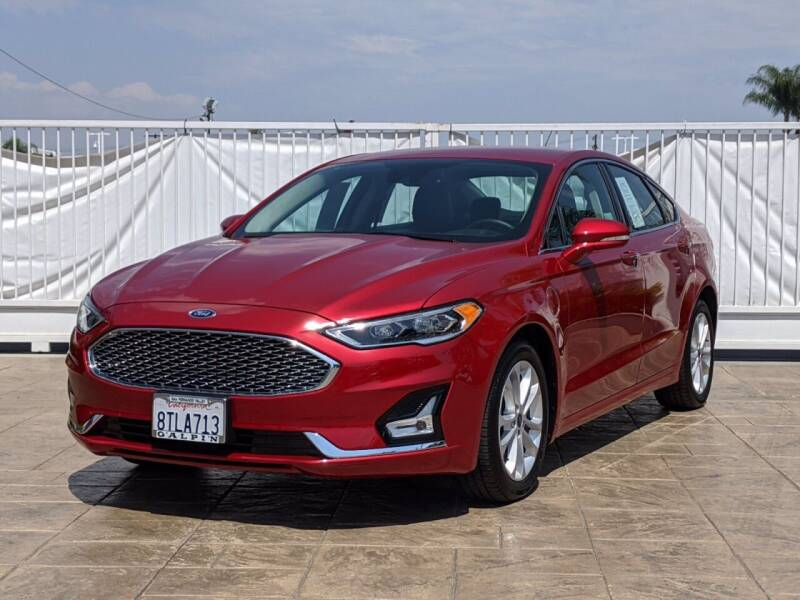 2020 Ford Fusion Energi for sale in Van Nuys, CA