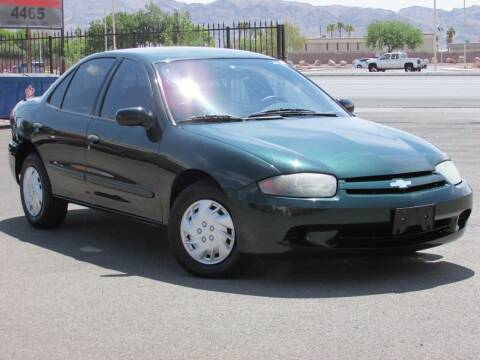 2003 Chevrolet Cavalier for sale at Best Auto Buy in Las Vegas NV