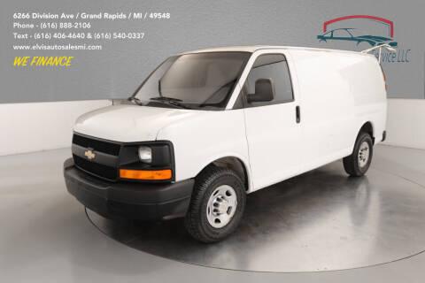 2013 Chevrolet Express Cargo for sale at Elvis Auto Sales LLC in Grand Rapids MI