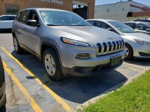 2016 Jeep Cherokee for sale at Marx Auto Sales in Livonia MI