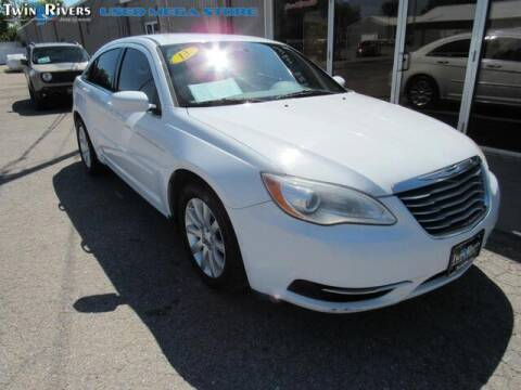 2013 Chrysler 200 for sale at TWIN RIVERS CHRYSLER JEEP DODGE RAM in Beatrice NE