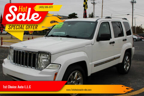 2009 Jeep Liberty for sale at 1st Choice Auto L.L.C in Oklahoma City OK