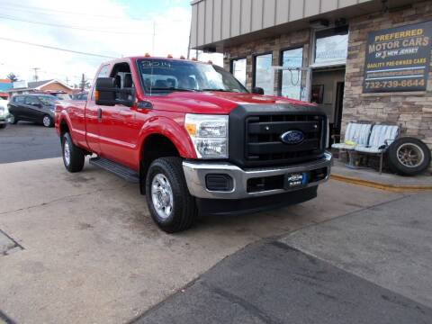 2014 Ford F-250 Super Duty for sale at Preferred Motor Cars of New Jersey in Keyport NJ