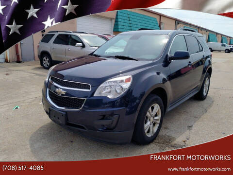 2015 Chevrolet Equinox for sale at Frankfort Motorworks in Frankfort IL