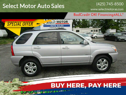 2006 Kia Sportage for sale at Select Motor Auto Sales in Lynnwood WA