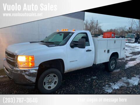 2011 Chevrolet Silverado 2500HD for sale at Vuolo Auto Sales in North Haven CT
