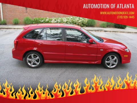 2003 Mazda Protege5 for sale at Automotion Of Atlanta in Conyers GA