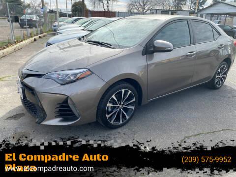 2017 Toyota Corolla for sale at El Compadre Auto Plaza in Modesto CA
