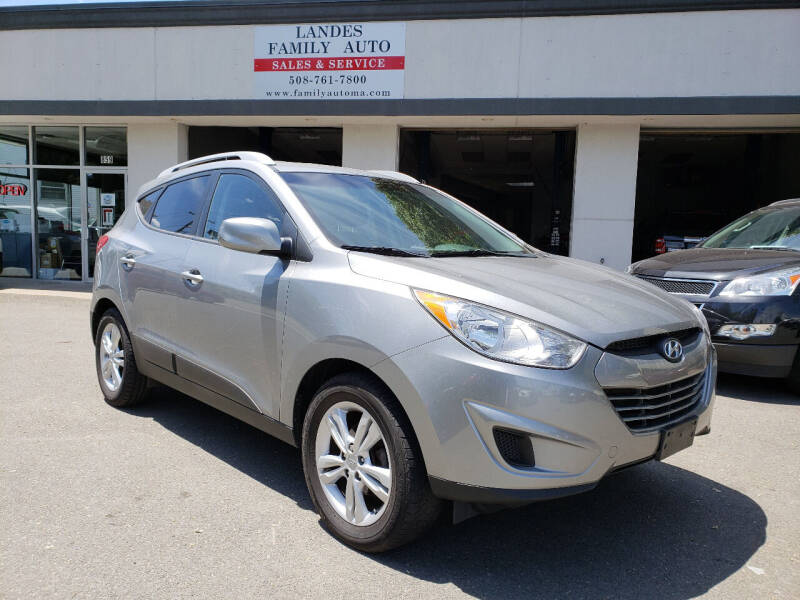 2012 Hyundai Tucson for sale at Landes Family Auto Sales in Attleboro MA