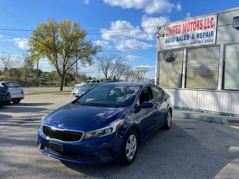 2018 Kia Forte for sale at United Motors LLC in Saint Francis WI