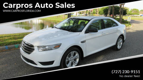 2016 Ford Taurus for sale at Carpros Auto Sales in Largo FL