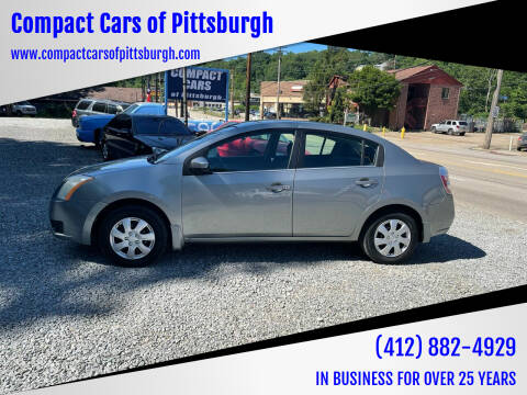 2007 Nissan Sentra for sale at Compact Cars of Pittsburgh in Pittsburgh PA