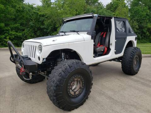 2013 Jeep Wrangler Unlimited for sale at Houston Auto Preowned in Houston TX