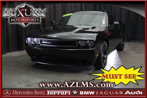 2012 Dodge Challenger for sale at Luxury Motorsports in Phoenix AZ