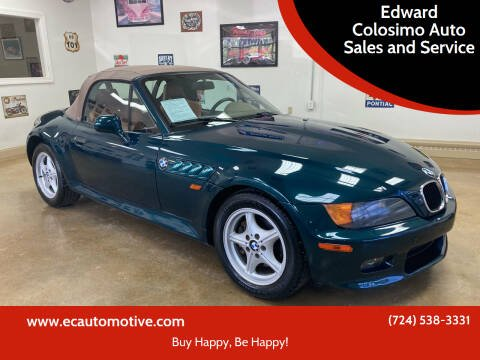 1999 BMW Z3 for sale at Edward Colosimo Auto Sales and Service in Evans City PA