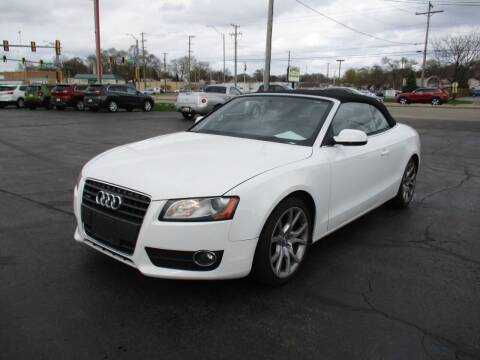 2010 Audi A5 for sale at Windsor Auto Sales in Loves Park IL