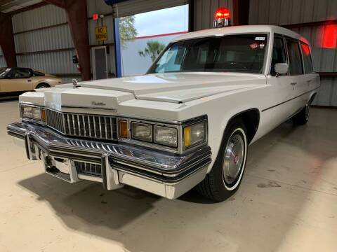 1978 Cadillac Fleetwood for sale at American Classics Autotrader LLC in Pompano Beach FL