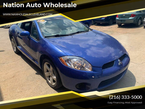 2006 Mitsubishi Eclipse for sale at Nation Auto Wholesale in Cleveland OH