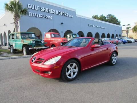 2006 Mercedes-Benz SLK for sale at Gulf Shores Motors in Gulf Shores AL