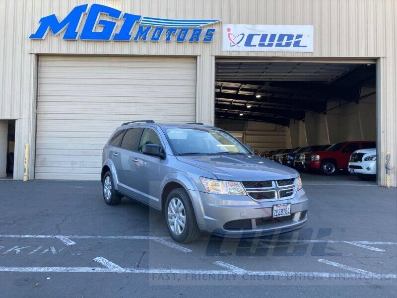 2016 Dodge Journey for sale at MGI Motors in Sacramento CA