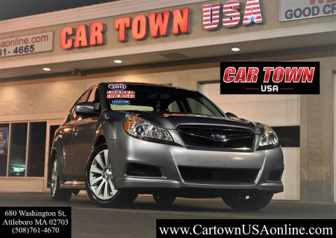 2011 Subaru Legacy for sale at Car Town USA in Attleboro MA