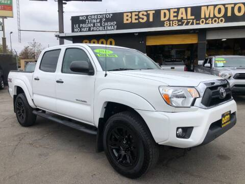 2015 Toyota Tacoma for sale at BEST DEAL MOTORS  INC. CARS AND TRUCKS FOR SALE in Sun Valley CA