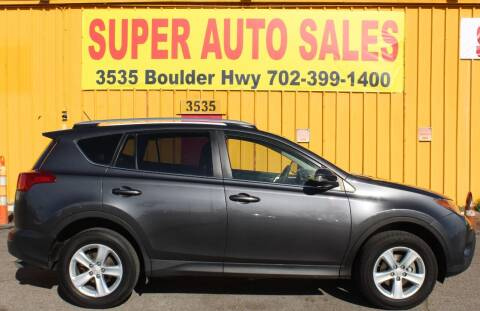 2014 Toyota RAV4 for sale at Super Auto Sales in Las Vegas NV