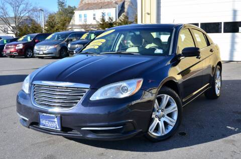 2012 Chrysler 200 for sale at Lighthouse Motors Inc. in Pleasantville NJ