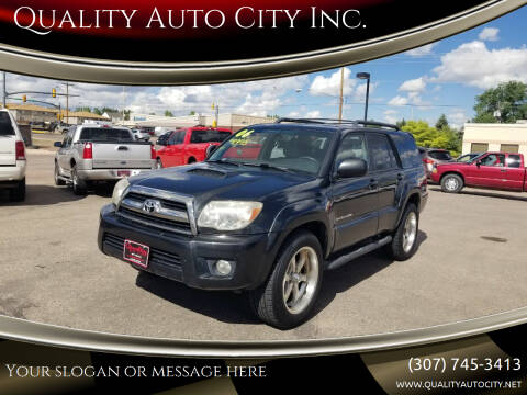 2006 Toyota 4Runner for sale at Quality Auto City Inc. in Laramie WY