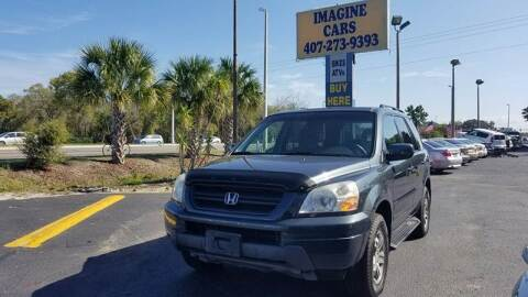 2003 Honda Pilot for sale at IMAGINE CARS and MOTORCYCLES in Orlando FL
