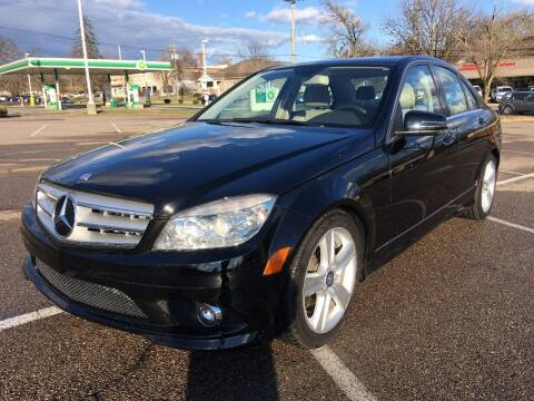 2010 Mercedes-Benz C-Class for sale at Borderline Auto Sales in Loveland OH