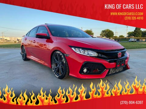 2017 Honda Civic for sale at King of Cars LLC in Bowling Green KY
