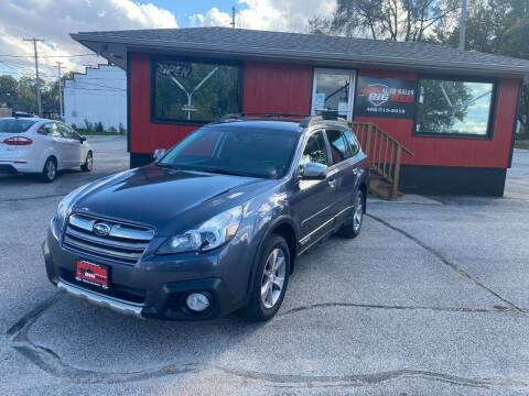 2014 Subaru Outback for sale at Big Red Auto Sales in Papillion NE
