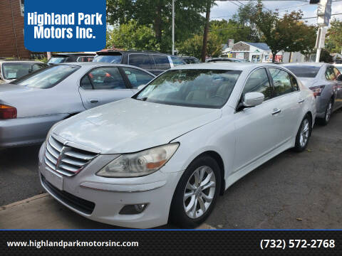 2013 Hyundai Genesis for sale at Highland Park Motors Inc. in Highland Park NJ