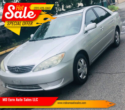 2005 Toyota Camry for sale at MD Euro Auto Sales LLC in Hasbrouck Heights NJ