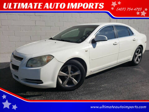 2008 Chevrolet Malibu for sale at ULTIMATE AUTO IMPORTS in Longwood FL