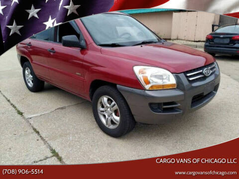 2008 Kia Sportage for sale at Cargo Vans of Chicago LLC in Mokena IL