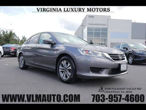 2015 Honda Accord for sale at Used Imports Auto - Virginia Luxury Motors in Chantilly GA