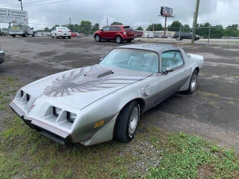 1979 Pontiac Firebird Trans Am for sale at Junior Compton Motors in Albertville AL