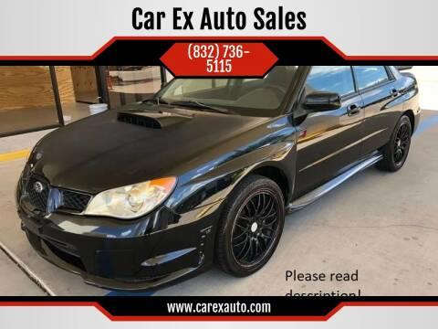 2007 Subaru Impreza for sale at Car Ex Auto Sales in Houston TX