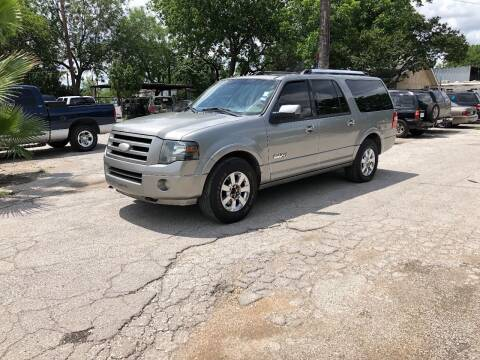 2008 Ford Expedition EL for sale at Approved Auto Sales in San Antonio TX