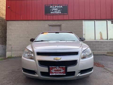 2012 Chevrolet Malibu for sale at Alpha Motors in Chicago IL