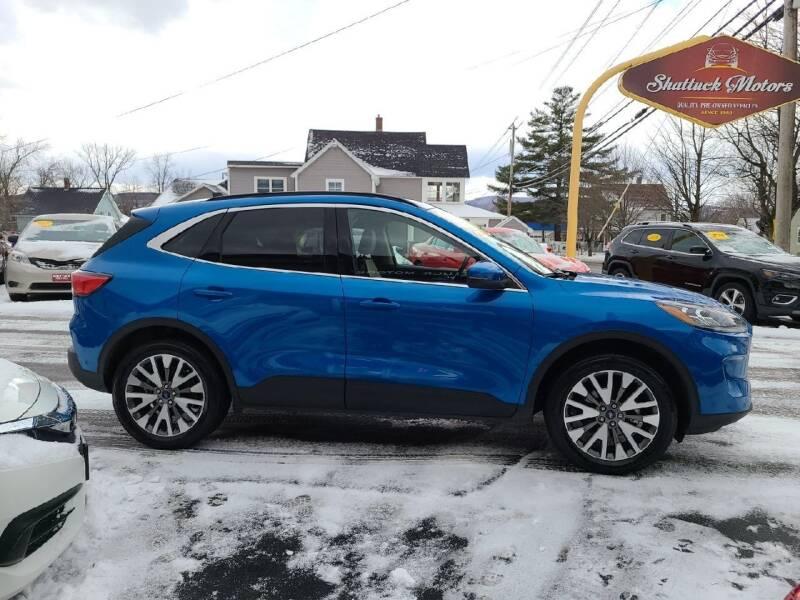 2020 Ford Escape for sale at Shattuck Motors in Newport VT