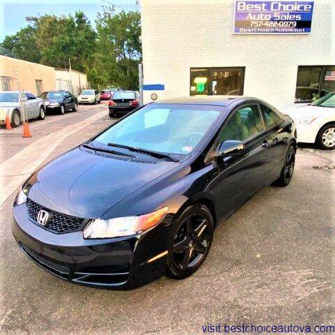 2010 Honda Civic for sale at Best Choice Auto Sales in Virginia Beach VA