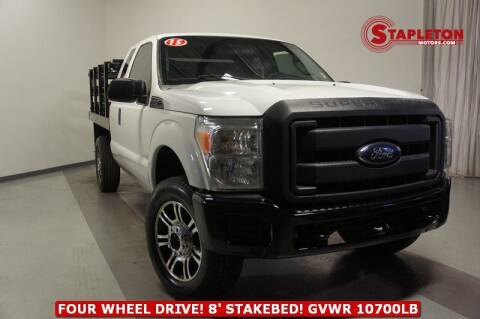 2015 Ford F-350 Super Duty for sale at STAPLETON MOTORS in Commerce City CO