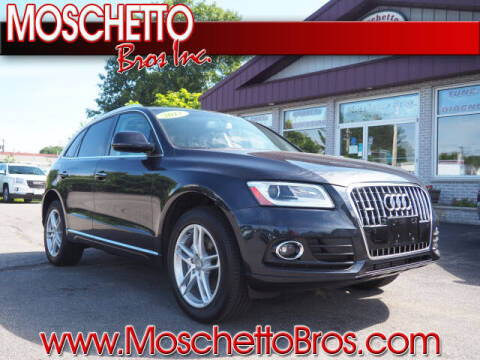 2017 Audi Q5 for sale at Moschetto Bros. Inc in Methuen MA