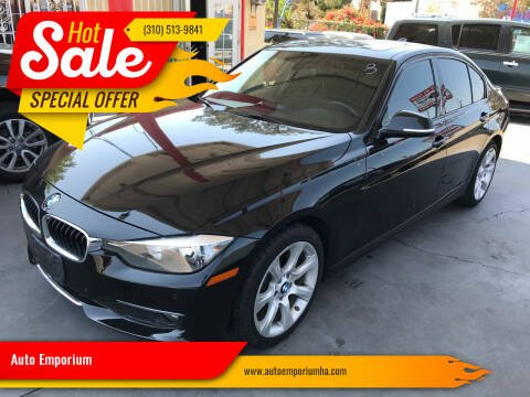2015 BMW 3 Series for sale at Auto Emporium in Wilmington CA
