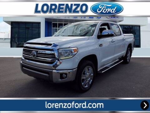 2016 Toyota Tundra for sale at Lorenzo Ford in Homestead FL