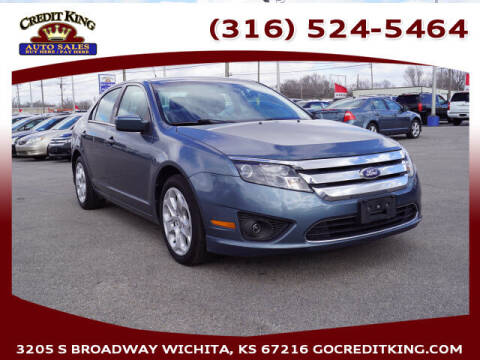 2011 Ford Fusion for sale at Credit King Auto Sales in Wichita KS